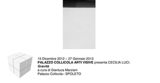 Comunicato Stampa Cecilia Luci 121102vc